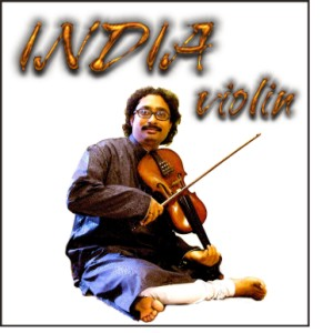 CD Cover: India Violin
